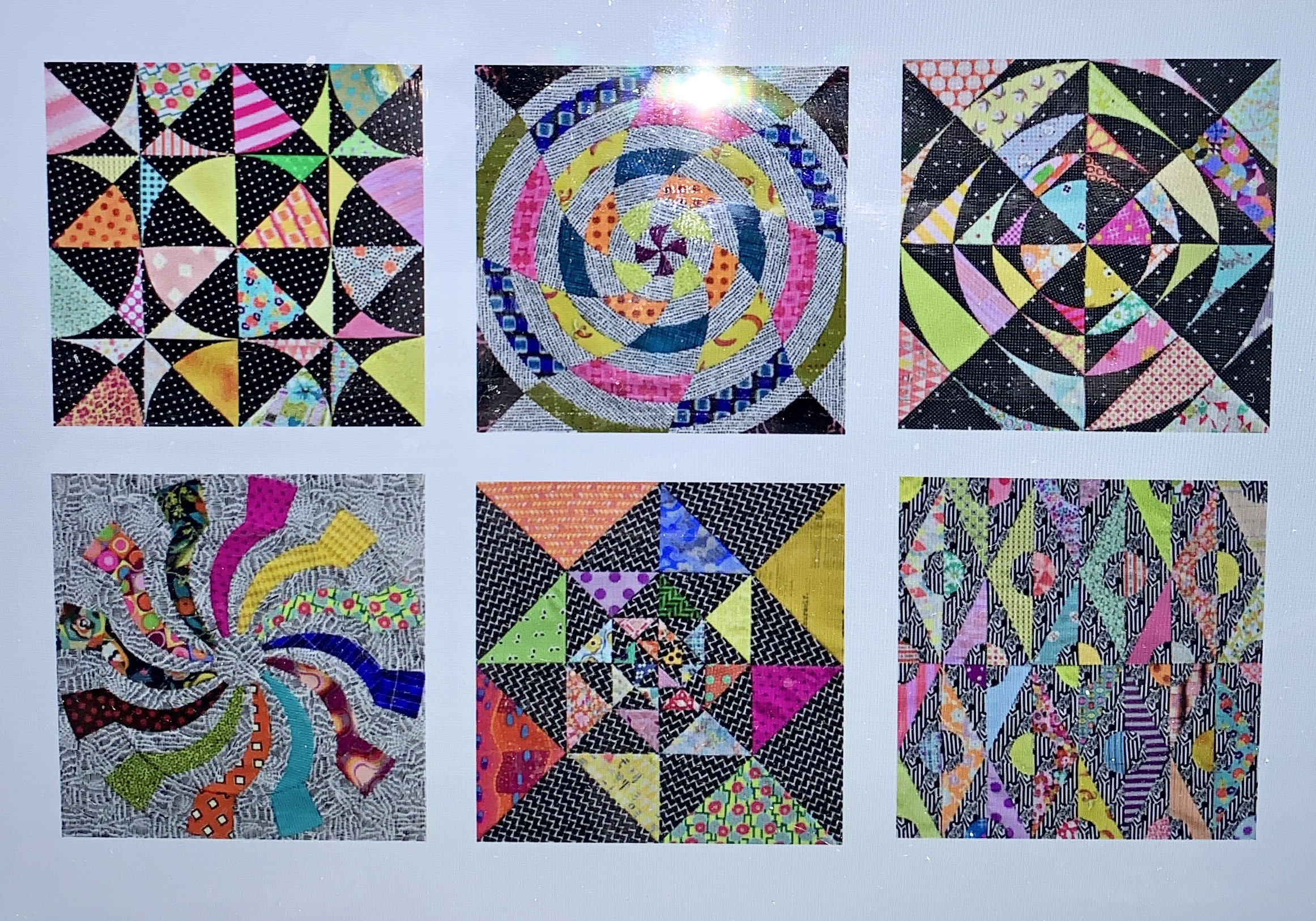 Jen Kingwell stitching class featured by top US quilting blogger, Lisa Bongean